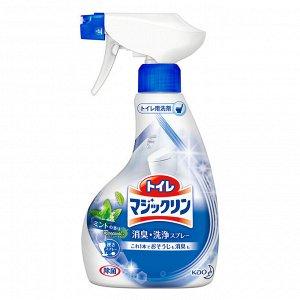 "334190 KAO ""Magiclean"" Чистящая спрей-пена для туалета с ароматом мяты 380 мл 1/12"