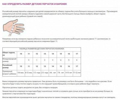 Распродажа! Товары для семьи, дома и огорода. — Как определить размер? — Вязаные перчатки и варежки