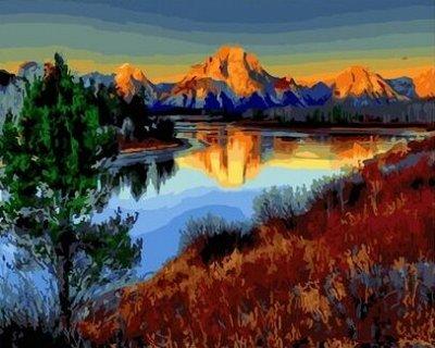 (131) Мир увлечений: акс-ры, мозаика, живопись, бисер, шитье — Раскраски по номерам «Paintboy» — Живопись по номерам
