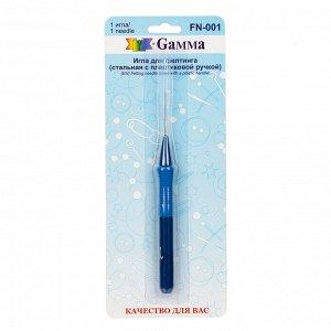 Игла для фелтинга стальная с пластиковой ручкой
