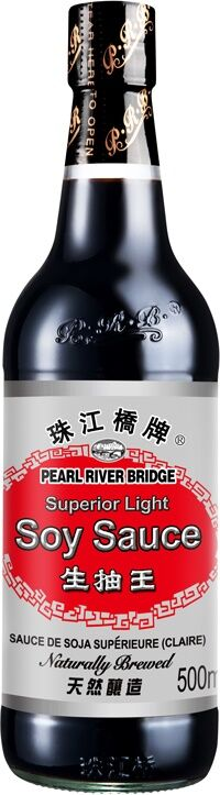 Соус соевый светлый Superior Light Soy Sauce Pearl River Bridge 500 мл.