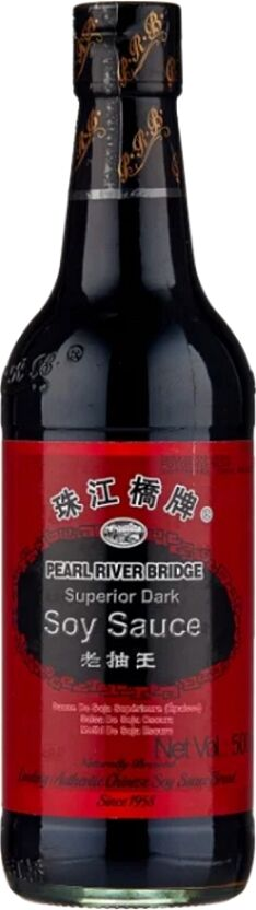 Соус соевый тёмный Superior Dark Soy Sauce Pearl River Bridge 500 мл.