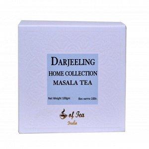 Чай чёрный листовой Масала (со специями) Darjeeling Home Collection Masala Tea 100 гр.