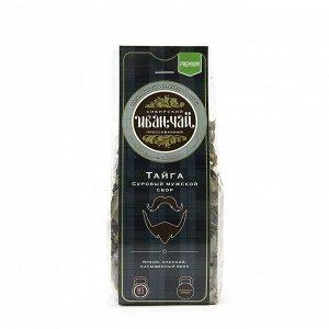 Суровый мужской сбор Тайга листовой ферментированный Иван-чай в пачках 85 гр.