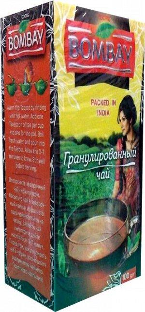Чай чёрный гранулированный Assam СТС Black Tea Bombay 100 гр.