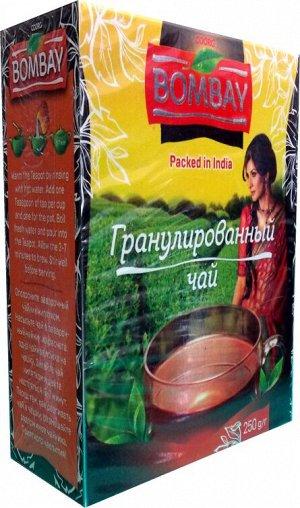Чай чёрный гранулированный Assam СТС Black Tea Bombay 250 гр.
