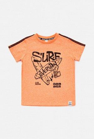 Футболка(Фуфайка) детская для мальчиков Bresson оранжевый