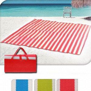 """Пляжный коврик """"Пальмы"""" широкий, складной, размер 162х150 см, цвета в ассортименте"""