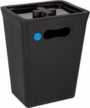 STOCKHOLM Контейнер для мусора 10л, цв.графит PT6570ГРФ