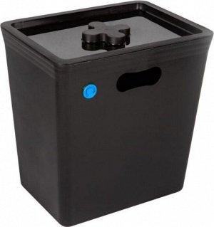 STOCKHOLM Контейнер для мусора 20л, цв.графит PT6572ГРФ
