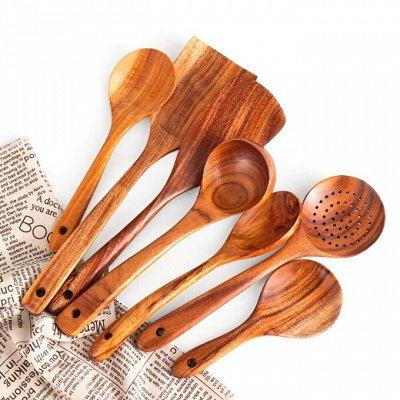 TV-Хиты! 📺 🥞 Все нужное на кухню и в дом!🍩🍕  — ЭКО. Деревянные кухонные принадлежности от 49 руб. — Аксессуары для кухни
