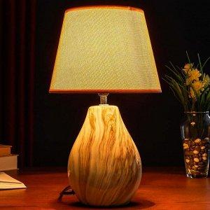 Настольная лампа 32154/1 E14 40Вт бежевый 22х22х38 см