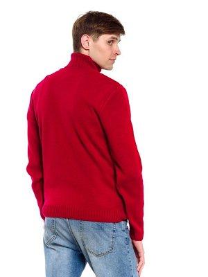 Свитер Количество в упаковке: 1; Артикул: ТРИС-789м/1; Цвет: Красный; Ткань: Пряжа; Состав: 50% шерсть,50% акрил; Цвет: Красный | Синий | Голубой Свитер мужской