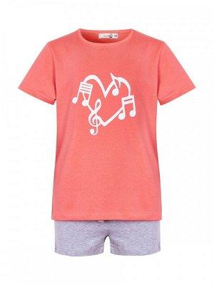 Пижама детская (футболка/шорты) GKS 142-264