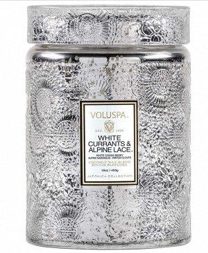 Белая смородина и альпийские кружева / White Currants & Alpine Lace Large Jar Candle