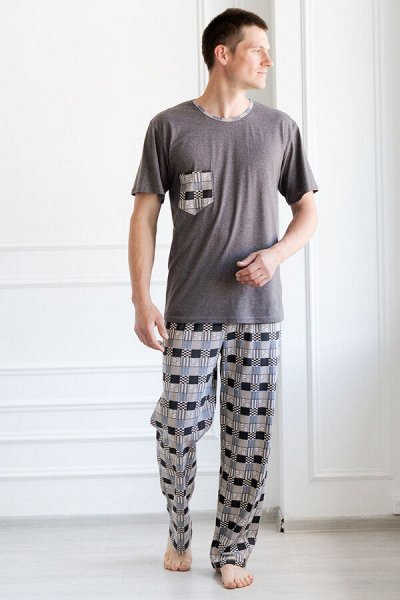 АмадЭль 2 — Мужской трикотаж. Пижамы мужские — Одежда для дома
