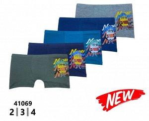 Трусы для мальчиков ( шорты /аппликация) 41069