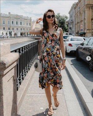 """Платье """"Флоренс"""" для беременных и кормящих; цвет: хаки"""