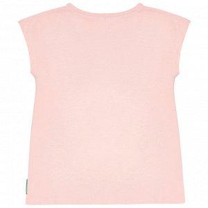 Футболка для девочки, розовый