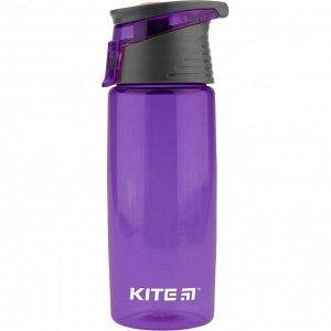 Бутылочка для воды, 550 мл., фиолетовая