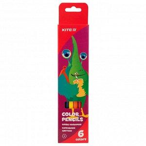 Карандаши цветные Kite Jolliers K19-050-5, 6 шт.