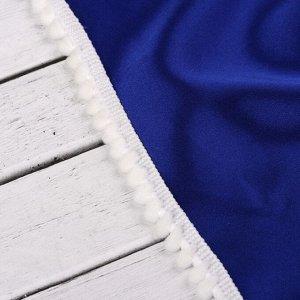 Тесьма декоративная с помпонами. 12 ± 2 мм. 8 ± 1 м. цвет белый