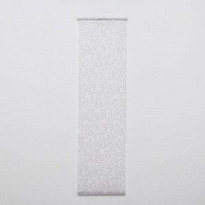 Штора-ролет «Аглетер». 45x160 см. цвет белый