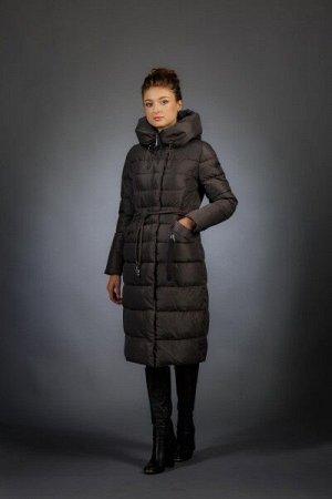 Женская куртка зимняя 18097 шоколад