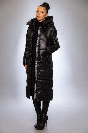 Женская куртка зимняя 991 черный