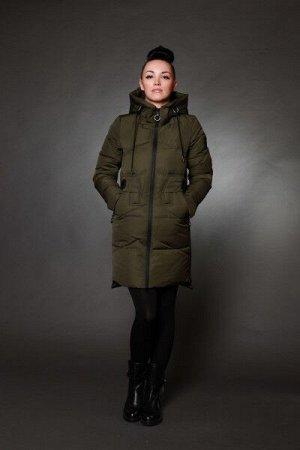 Куртка женская зимняя 6027 хаки