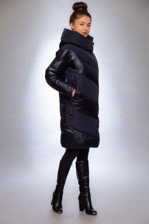 Женская куртка зимняя 9817 синий