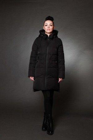 Куртка женская зимняя 6027 черный