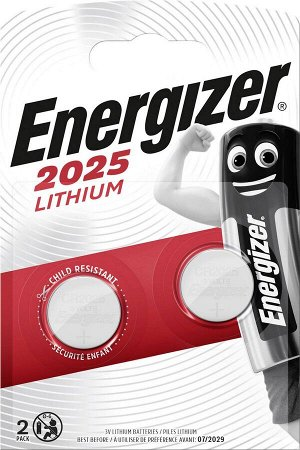 Батарейка ENERGIZER Lithium 2*CR2025 3V FSB2