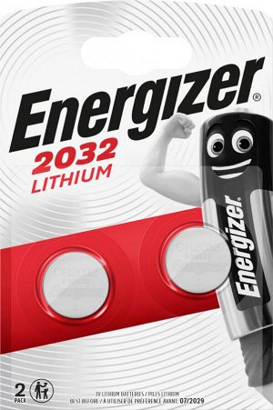 Батарейка ENERGIZER Lithium 2*CR2032 3V FSB2