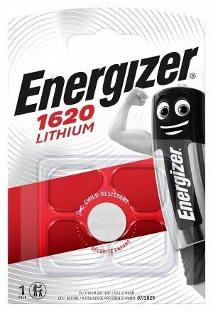 Батарейка ENERGIZER Lithium 3V CR1620 BР1 уп.1шт
