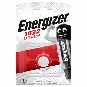 Батарейка ENERGIZER Lithium 3V CR1632 BР1 уп.1шт