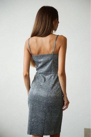 Платье 303/1 серебро