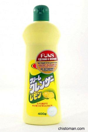 DAIICHI Крем для чистки кафеля, нерж. стали Лимон 400 г