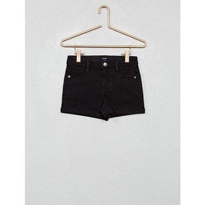 Одежда из Франции для всей семьи! — Девочки. Укороченные брюки, шорты. — Шорты и бермуды
