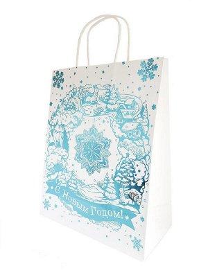 Пакет Волшебная снежинка