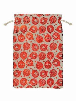 Декоративный мешочек Гранат, 0,2*20*30