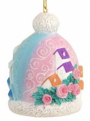 Новогоднее подвесное украшение Шапочка-Снежная королева