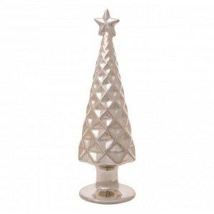 Новогодняя фигурка Золотая елка со звездой 7