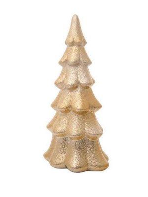 Новогодняя фигурка Золотая елка 12