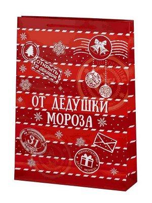Бумажный пакет От Дедушки Мороза