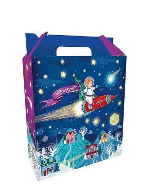 Коробка для кондитерских изделий Полет в космос