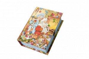 Подарочная коробка Внучка Деда Мороза-S, 18x12x5