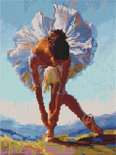 Картины по номерам, алмазная мозайка, вышивка — Алмазная мозаика 30х40 (Квадратные стразы) — Мозаики и фреска