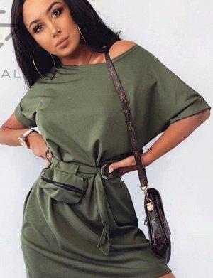 Платье-туника с сумочкой в комплекте