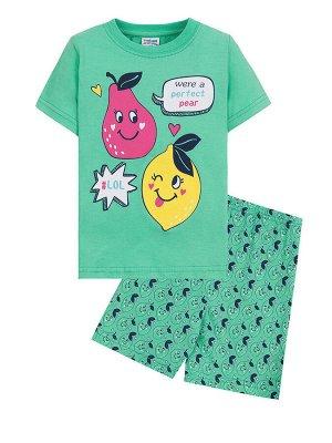 """Комплекты для девочек """"Fruits"""", цвет Зеленый"""